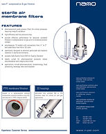nano industrial stainless steel filters brochure