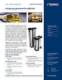 nitrogen gas generators for edible oils brochure