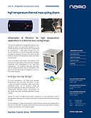 RTC refrigerated air dryer brochure