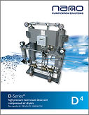 D4 high pressure desiccant air dryers