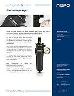 nano filter heater brochure