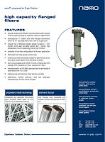 nano Flanged Fabricated Compressed Air Filter Brochure