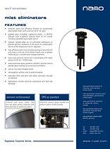 nano mist eliminator filters for compressed air system brochure