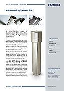 F4 Hochdruck-Edelstahlfilter