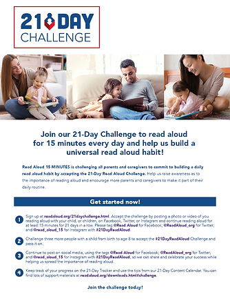 21 day Challenge Newsletter Cover Photo.