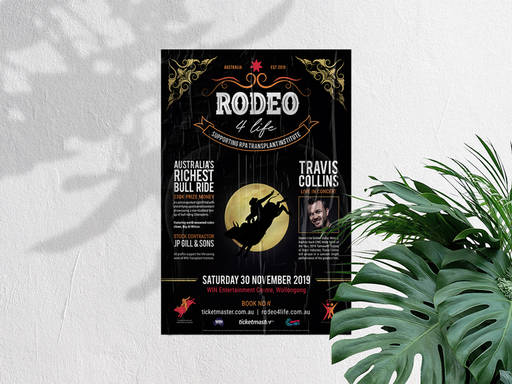 Rodeo 4 Life Poster