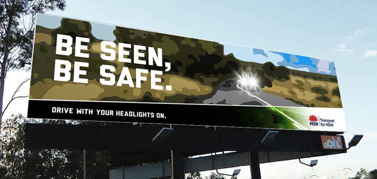 Headlights Billboard