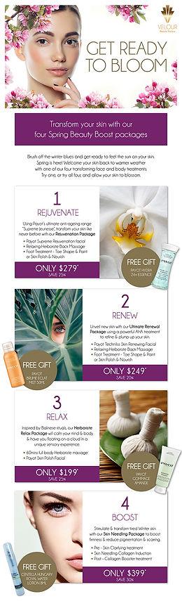Velour Beauty Parlour Spring eDM