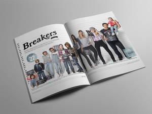 Breakers centre spread