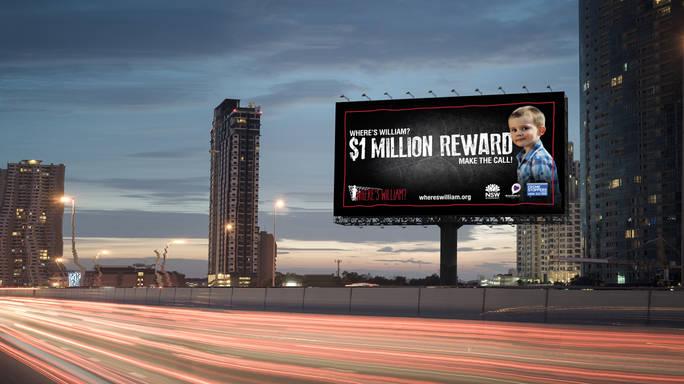 Where's William billboard