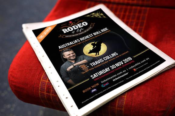 Rodeo 4 Life Newspaper ad