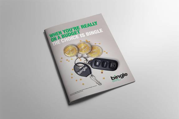 Bingle Canstar Award press ad-multiple wins