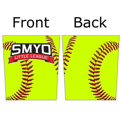 SMYO Softball Activity Mask