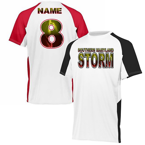 STORM Black_Red Jersey Set