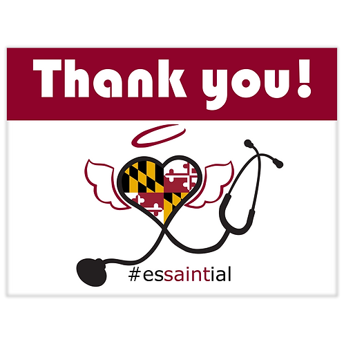 MD EXCLUSIVE - Thank you, essential workers!