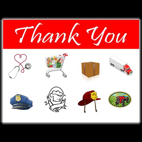 Thank you, essentials!