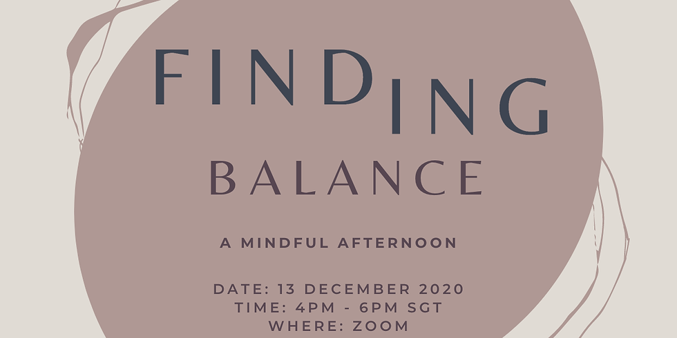 Finding Balance: A Mindful Afternoon