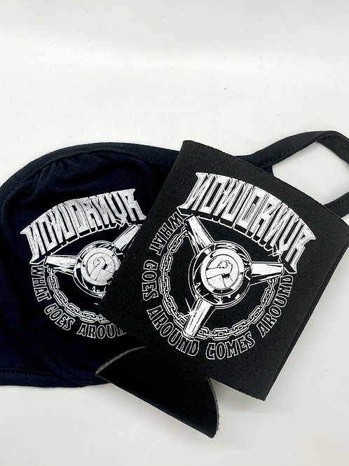 NowOrNvr - Face Mask and Koozie
