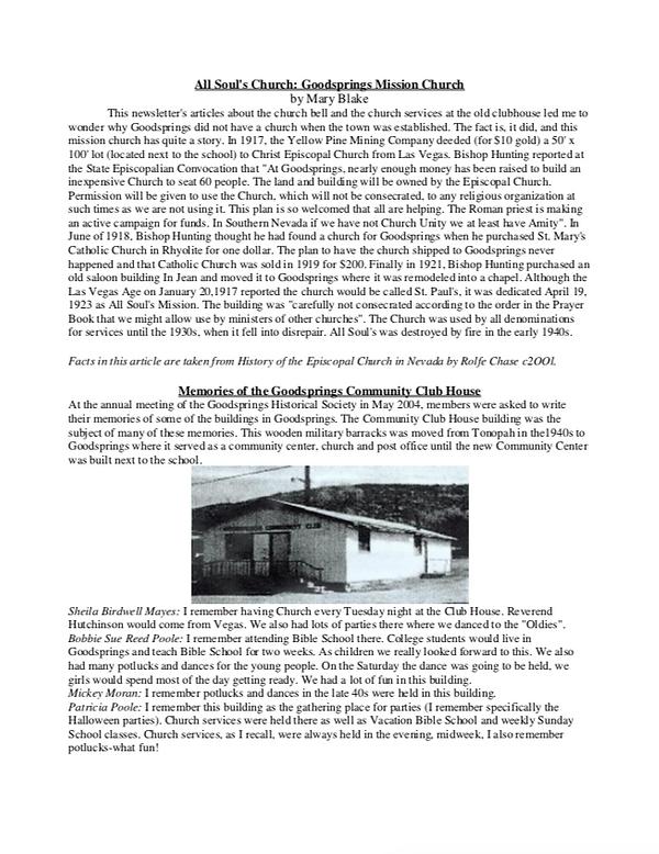 GHS Newsletter 2005 2.png