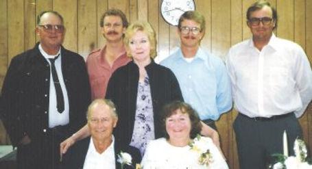 26th Jim, Ed, Carol, David, Joe, Greer a
