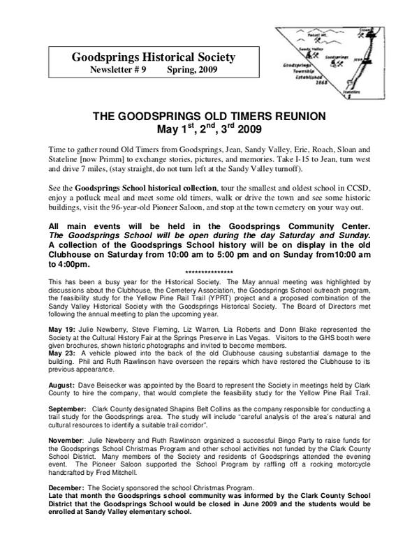 GHS Newsletter 2009 1.png
