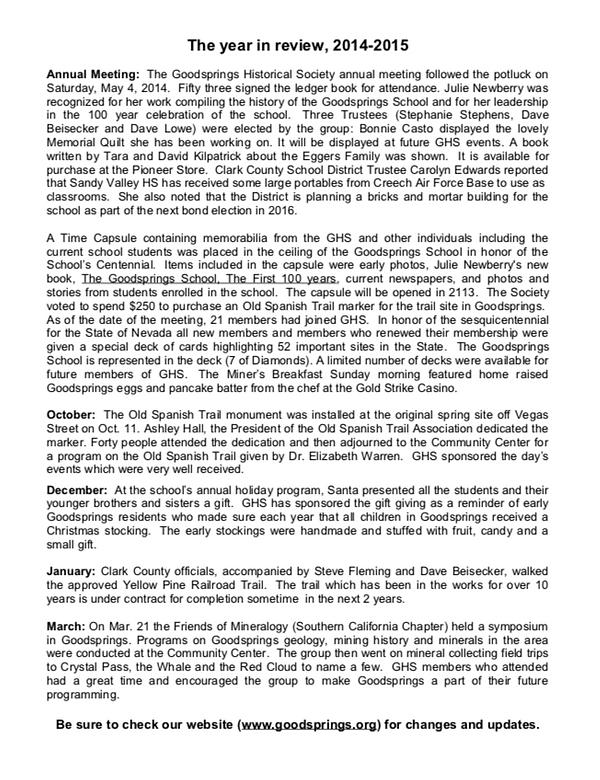 GHS Newsletter 2015 2.png