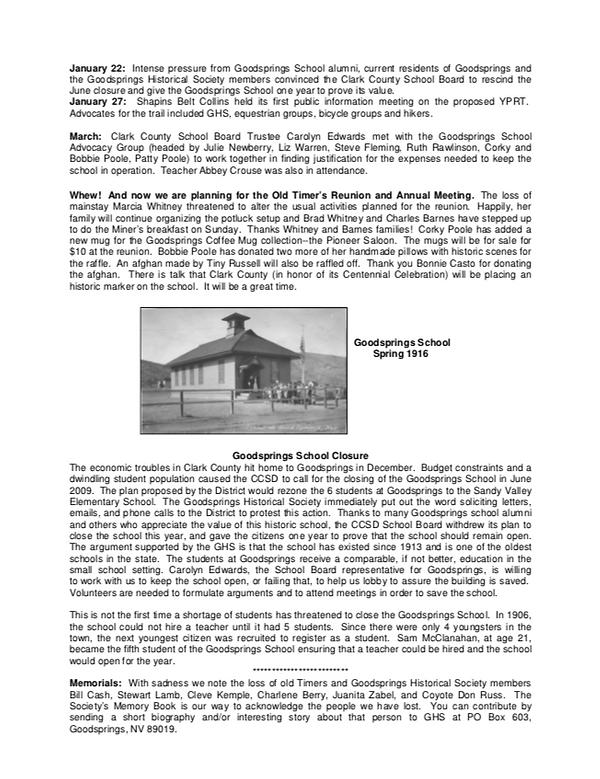 GHS Newsletter 2009 2.png