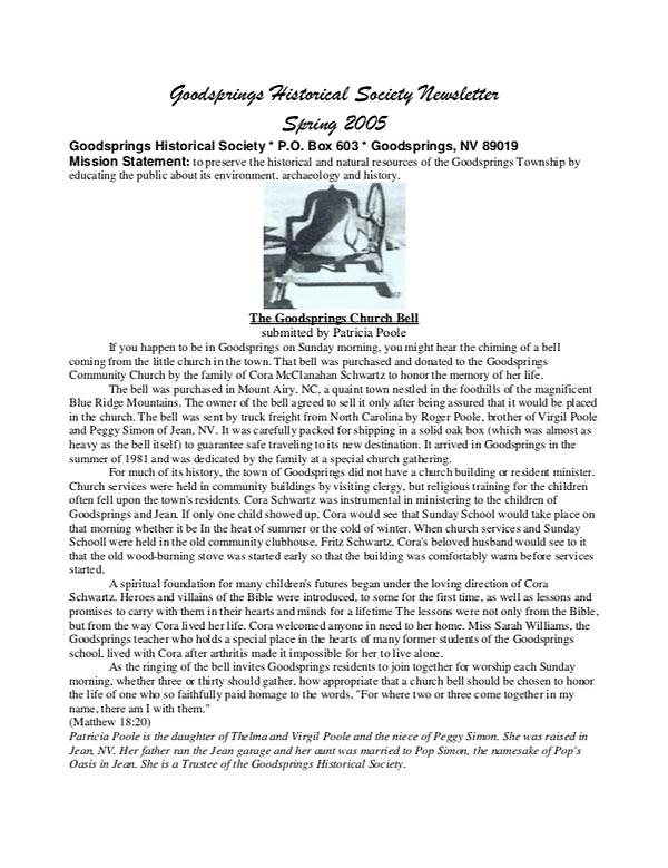 GHS Newsletter 2005 1.png