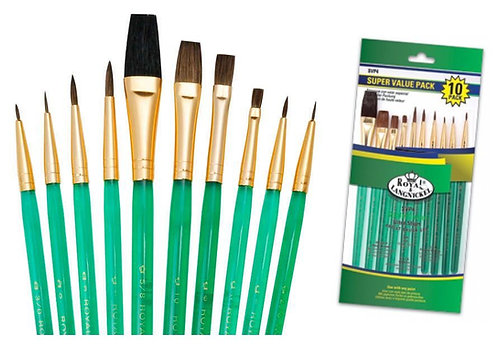 Paint Brushes Painting 10 PC Set