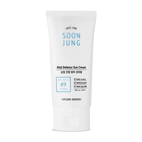 ETUDE HOUSE - Soon Jung Mild Defence Sun Cream SPF 49 PA++