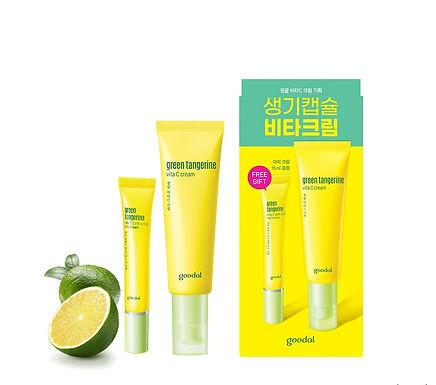 GOODAL - Green Tangerine Vita C Cream Set
