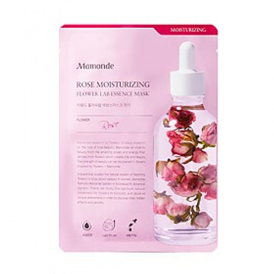 MAMONDE - Rose Moisturizing Flower Lab Essence Mask