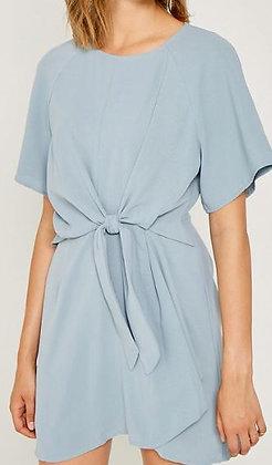 TIE FRONT SHIFT DRESS