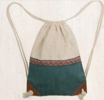 Boho Drawstring Backpack