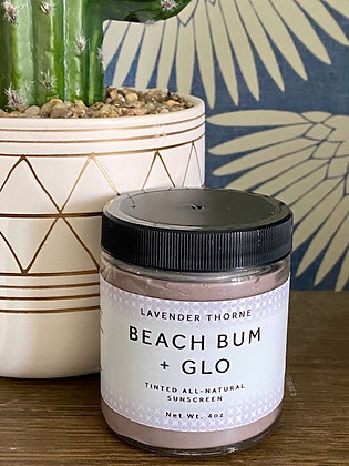 Beach Bum Sunscreen + Glow (Tinted Sunscreen)