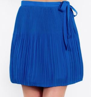 HIGH TIDE PLEATED SKIRT