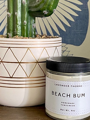 Beach Bum All Natural Sunscreen