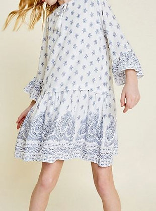 PASLEY BELL SLEEVE DRESS