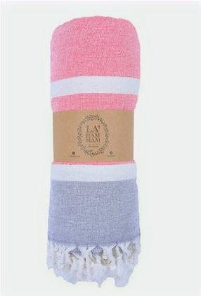 Victoria Peshtemal Pure Cotton Beach Towel