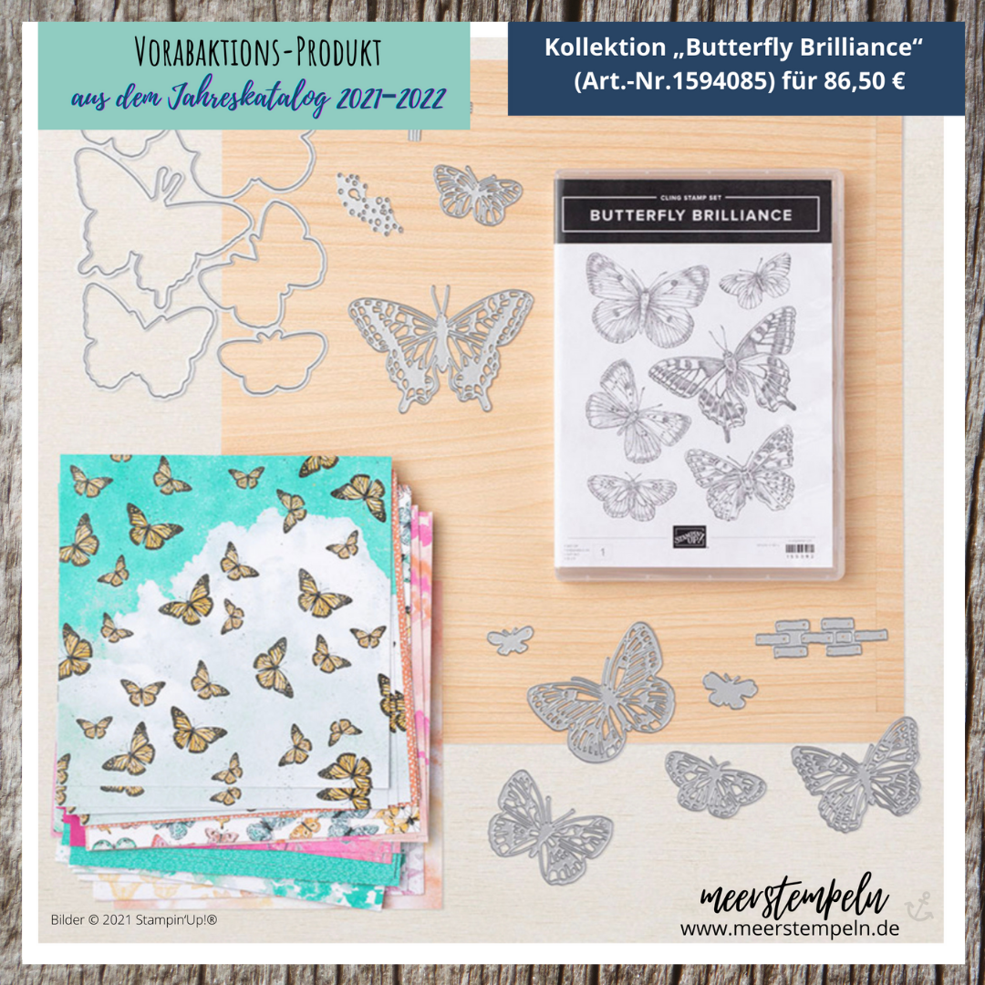 Butterfly Brilliance, Stampin Up, Stampi