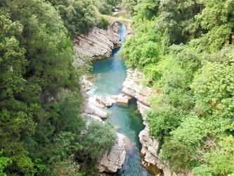 Wanderung: Gole del Calore – das verwunschene Tal bei Felitto