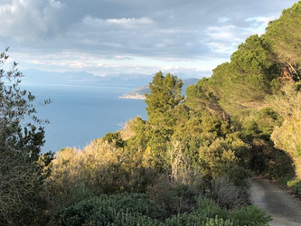 Rundwanderung von A'Crápa Mangia zum Monte Licosa