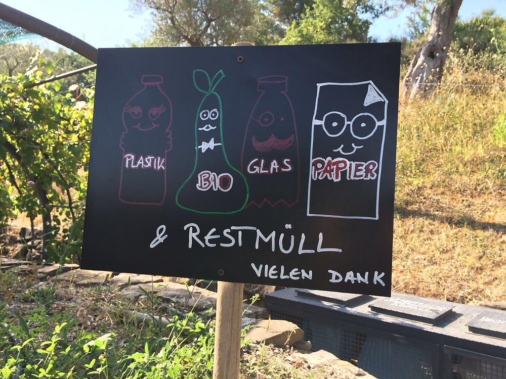 Unsere Müllstation