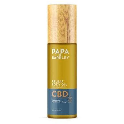 Papa & Barkley - CBD Topical - Releaf Body Oil - 400mg