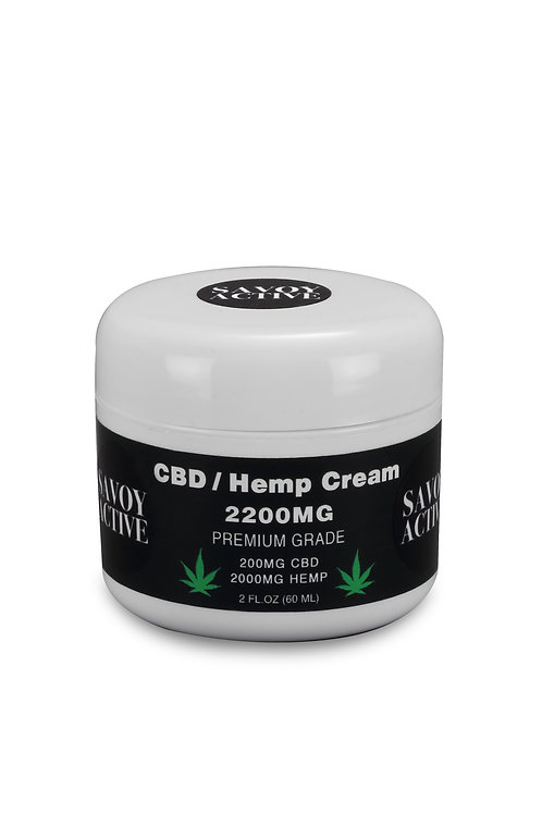 CBD / Hemp Seed Oil Cream - Full Spectrum - Premium Grade - 100% Natural 2 FL.OZ