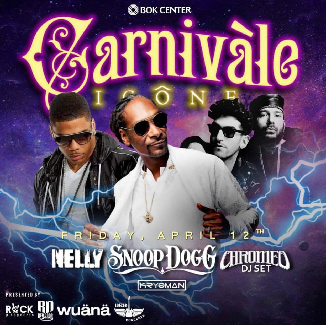 Carnival of Icons BOK Center April 12
