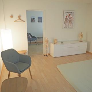 Behandlungsraum Shiatsu Praxis Zürich 1