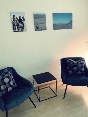 waiting area: shiatsu-lounge - shiatsu therapy zurich 1
