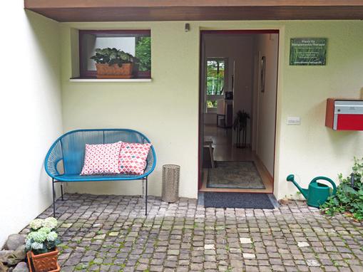 entrance: shiatsu-lounge - shiatsu therapy zurich