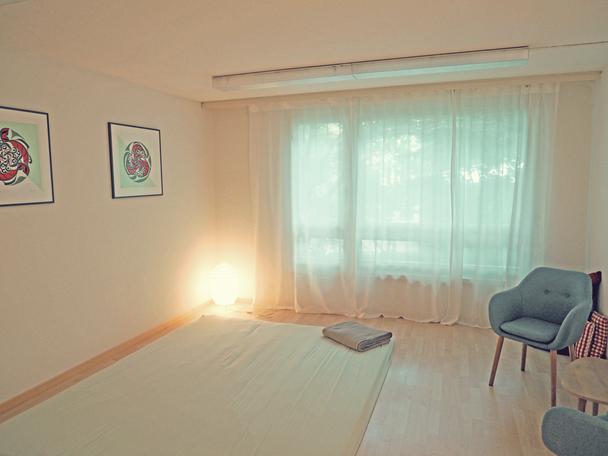 treatment room: shiatsu-lounge - shiatsu therapy zurich